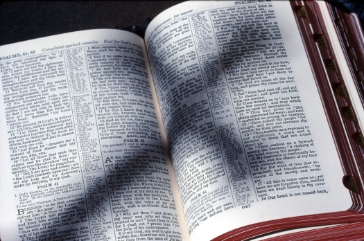 Bible And Shadow Of Cross 2