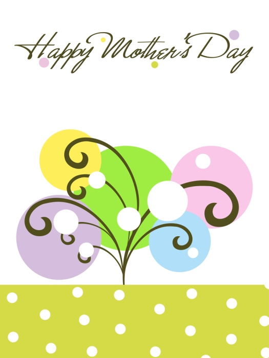 colorful creative artwork background card for mother day celebra