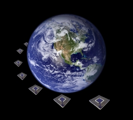 RFID tags around our planet. Radio Frequency Identification.