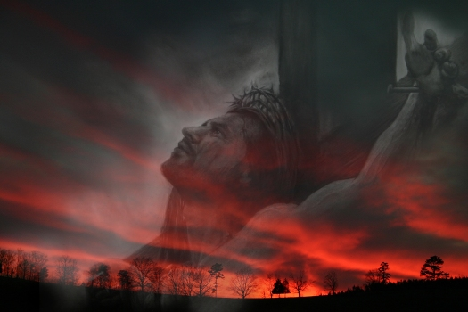 Art Jesus Cross Copy