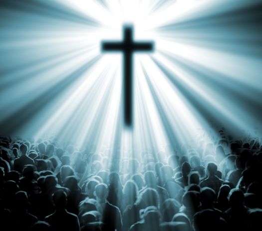 Christian religion background