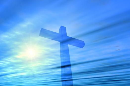 bigstock-Cross-In-The-Heaven-2057514