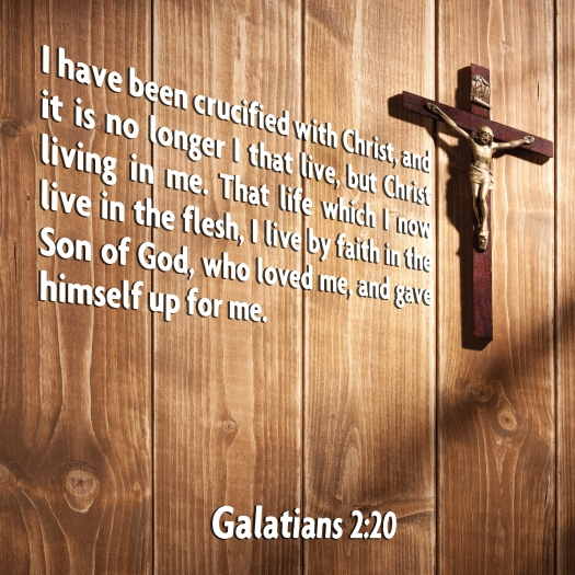I Have Been Crucified With Christ, And It Is No Longer I That Li