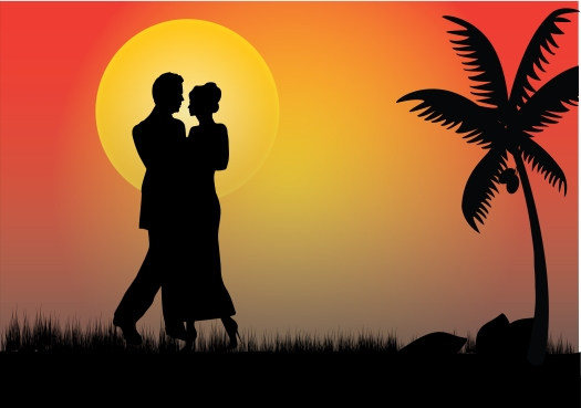 Couple In The Moonlight