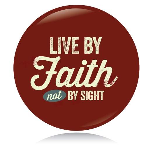 bigstock-Vintage-Christian-button-Live-42409558