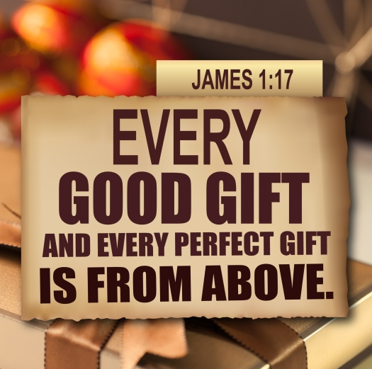 Thanksgiving James 1:17 Every good gift and every perfect gift is from above.