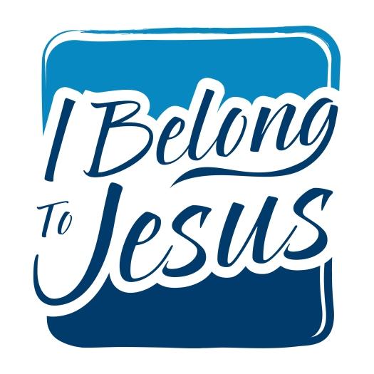 Typography Art Saying I Belong To Jesus